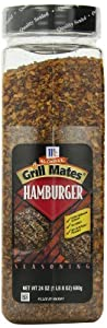 McCormick Grill Mates Seasoning, Hamburger, 24-Ounce