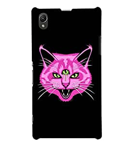GADGET LOOKS PRINTED BACK COVER FOR SONY XPERIA Z1 MULTICOLOUR