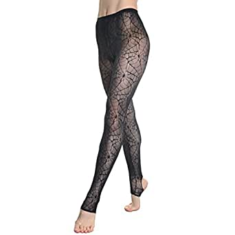 Angelina Lace Footless Tights, #5290_12FL