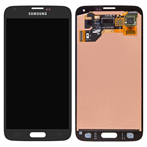 Generic Black for Samsung Galaxy S5 Touch Screen Glass Digitizer + LCD Display Assembly from For Samsung