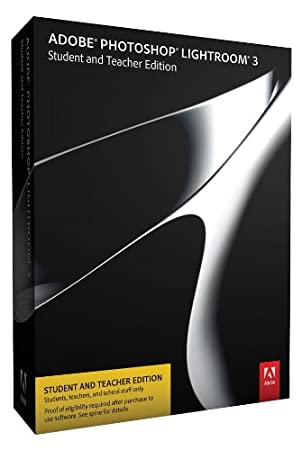 Adobe Photoshop Lightroom 3 Student and Teacher Edition [OLD VERSION]