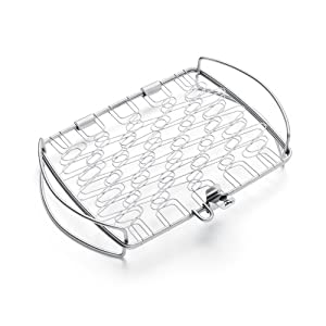 Weber 6470 Original Stainless Steel Fish Basket Small by Weber Stephen Company- Accessories