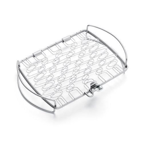 Weber 6470 Original Stainless Steel Fish Basket, Small