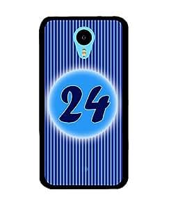 Fuson 2D Printed Numerology Designer back case cover for Meizu M2 Note - D4244