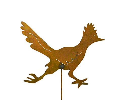 Roadrunner Decorative Metal Garden Stake, Whimsical Yard Art!