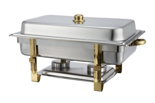 winware-8-quart-stainless-steel-gold-accented-chafer