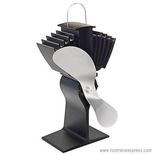 Ecofan Heat-Powered Wood Stove Fan - More Than Just Hot Air