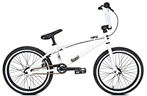 DK #20403 LEGEND 20 Inch Boys Bike Matte White in Color 20 Matte White by DK