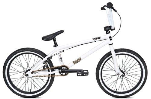 Huffy Boy's Legend Bike, Matte White, 20-Inch