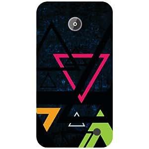 Printland Triangled Back Cover For Nokia Lumia 630