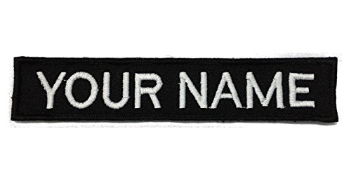 Custom Name Tape with Velcro / Personalized Military Name Tapes / 5 Inches Long (Custom Velcro Patch compare prices)