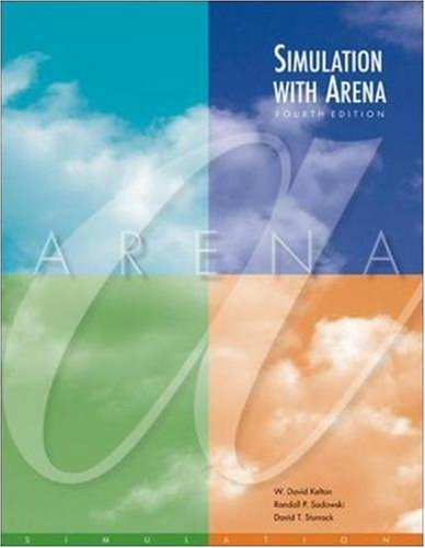 Simulation with Arena with CD (McGraw-Hill Series in...