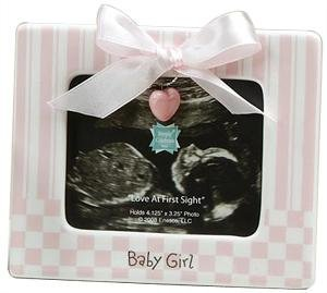 Baby Girl Ultrasound Picture Frame