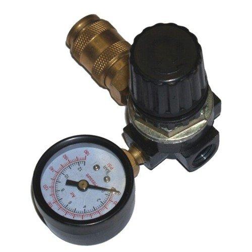 Druckregler-1x-14-IG-mit-Manometer-fr-Kompressor