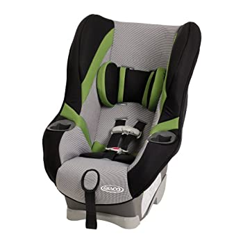 Help keep your growing child safe in this innovative convertible car seat. The American Academy of Pediatrics recommends your child ride rear-facing as long as possible, so My Ride 65 stays rear-facing up to 40 pounds.Keep your child safe and comfort...