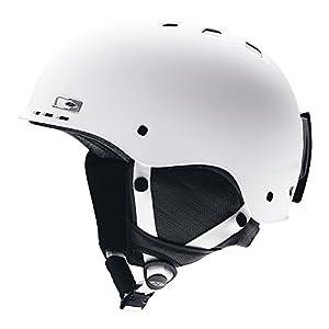 SMITH OPTICS Erwachsene Ski- und Snowboardhelm Holt-AD, Matte White, E006167CB5658