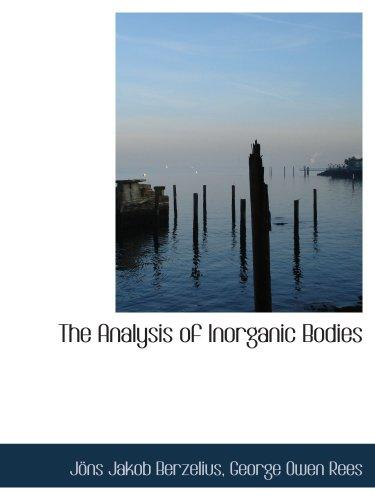 El análisis de los cuerpos inorgánicos