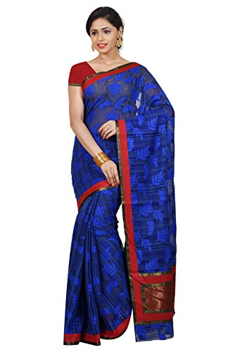 Mimosa Women\'s Traditional Art Silk Saree With Blouse Color:Royal Blue(3357-BRSS-RBLU )