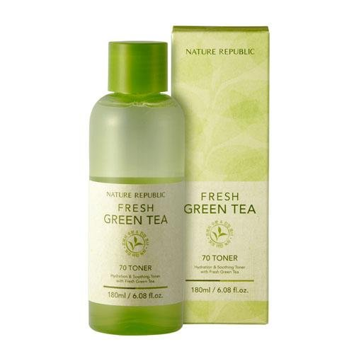 Nature Republic Fresh Green Tea 70 Toner (Korean Original)