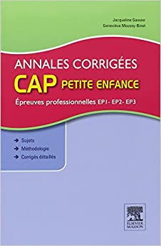 Annales corrigees cap petite enfance epreuves for Annales cap cuisine