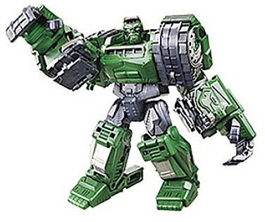 Marvel Transformers Crossovers Series 01 - Hulk (import) By Takara Tomy Picture
