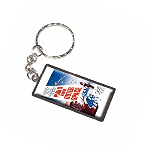 Graphics and More Plan 9 From Outer Space Vintage Movie Poster Keychain Ring (K2174)