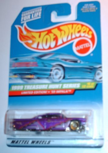 Mattel Hot Wheels Treasure Hunt 1999 59 Impala 6 of 12