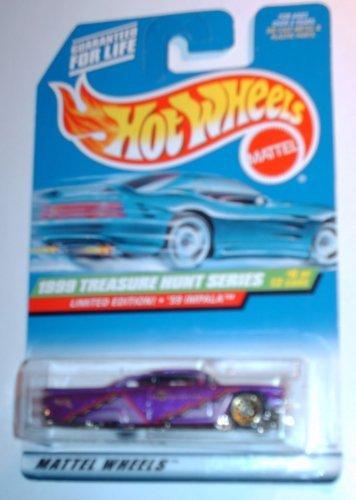 Mattel Hot Wheels Treasure Hunt 1999 59 Impala 6 of 12