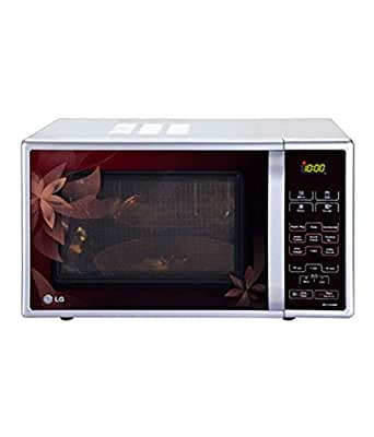 LG 21 L Convection Microwave Oven (MC-2143BPP, Red Dancing Floral)