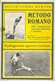 img - for Metodo Romano per l'immediato galleggiamento e nuoto. book / textbook / text book