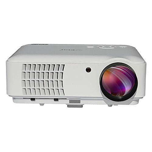 1080p Full Hd Led Lcd Multimedia Vga Hdmi Tv Home Theater: EUG 88W Video Home Theater Projector 1080P LED 3D Full HD