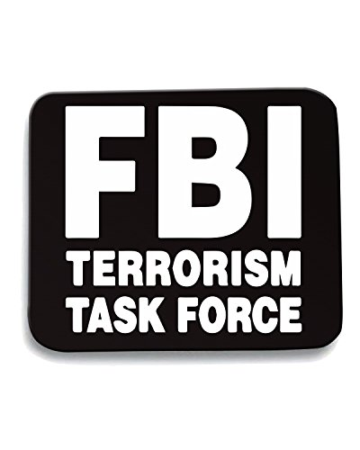 T-Shirtshock - Tappetino Mouse Pad TM0543 fbi terrorist task force, Taglia taglia unica