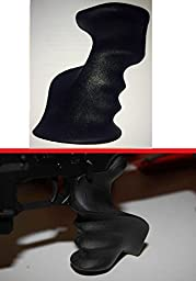 AR Style Polymer Palm Right Handed Pistol Grip with Base