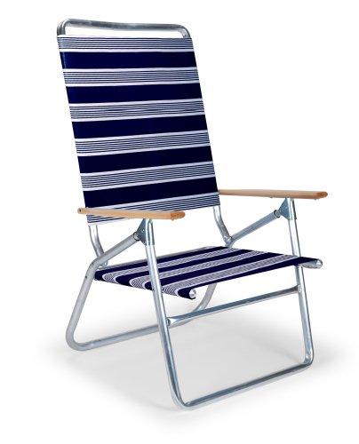 Telescope Casual Light and Easy High Boy Folding Beach Arm Chair, Night