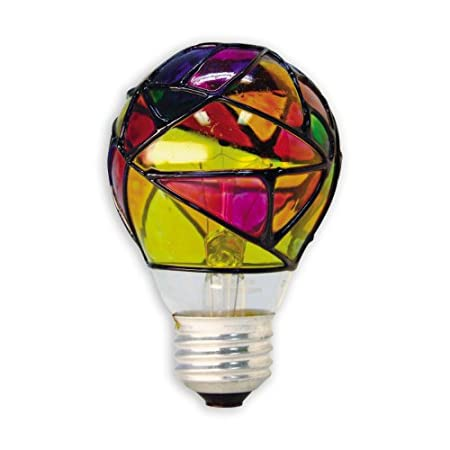 GE Lighting 46645 25-Watt Stained Glass Light Bulb