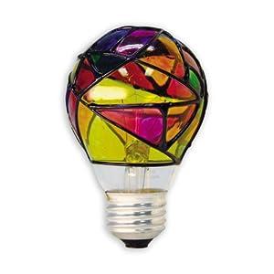 Ge Lighting 46645 25 Watt Stained Glass Light Bulb Incandescent Bulbs