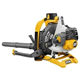 Factory Reconditioned Ryobi ZRRY09600 30cc 2 Stroke Gas-Powered 180 mph Variable Speed Touchstart Backpack Blower with Electric Start