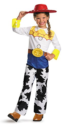 Kid's Jessie Toy Story Costume (Size:Medium-Toddler 3T-4T)
