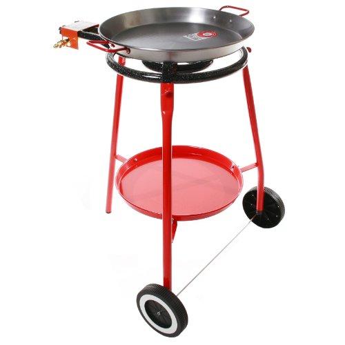 Burner, Tripod & 17 inch Pan Set