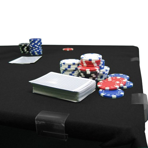 Poker Card Table Felt 2YD X 2YD Black