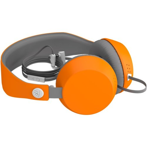 Coloud Boom Blocks Lifestyle Wired Headphone - Grey/Orange / One Size