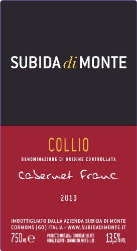 2010 Subida Di Monte Cabernet Franc - Doc Collio - 750 Ml