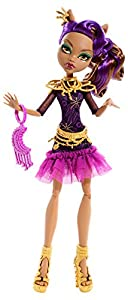 Monster High Frights, Camera, Action! Black Carpet Clawdeen Wolf Doll from Monster High