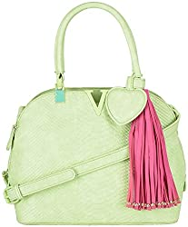 Moda King Women's Handbags (Green) (ModaKing018)