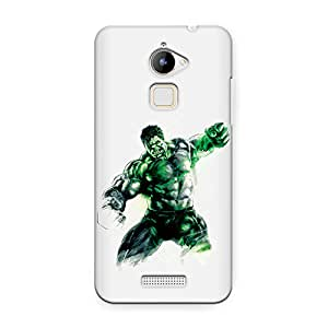CrazyInk Premium 3D Back Cover for COOLPAD NOTE 3 LITE - Hulk Watercolor