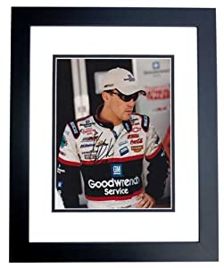 Kevin Harvick Autographed Hand Signed Racing 8x10 Photo - BLACK CUSTOM FRAME by Real Deal Memorabilia