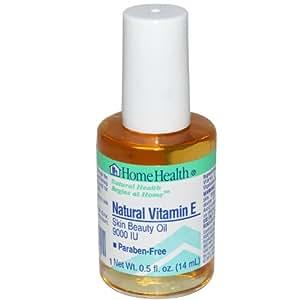 Liquid vitamin e for skin