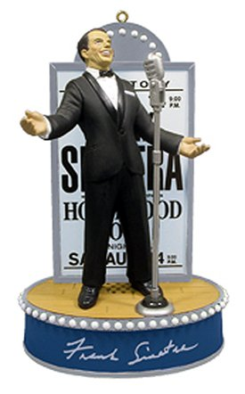 Carlton Heirloom Frank Sinatra Musical Concert Christmas Ornament #CXOR-286R