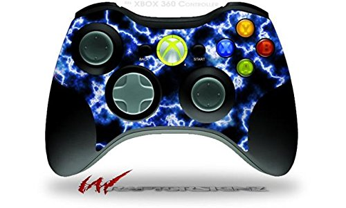 XBOX 360 Wireless Controller Decal Style Skin - Electrify Blue (CONTROLLER NOT INCLUDED)