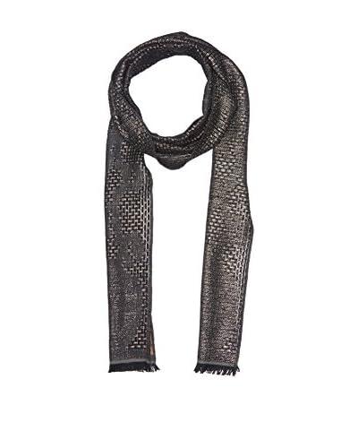 Roberto Cavalli Schal schwarz/weiß/grau